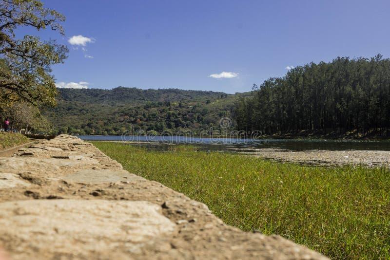 Laguna Del Pino immagine stock