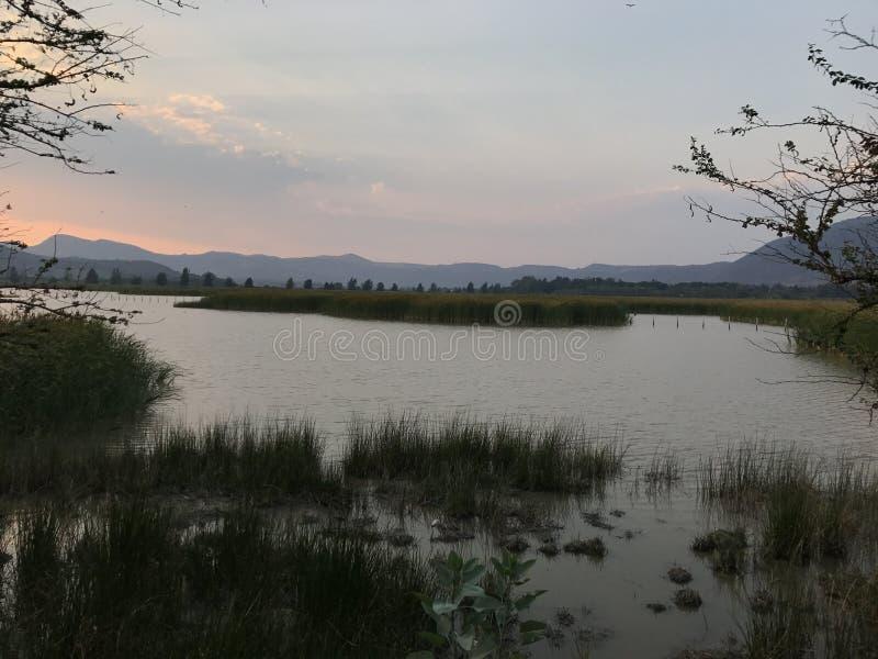 Laguna della corona della villa, Jalisco, Messico immagine stock libera da diritti