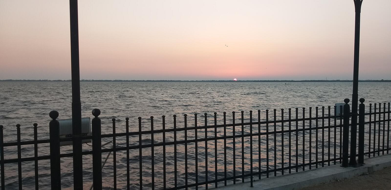 Laguna dello Sri Lanka fotografia stock libera da diritti
