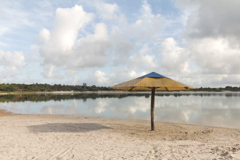 Laguna di Carcara, Nizia Floresta, Marina militare, Brasile fotografia stock