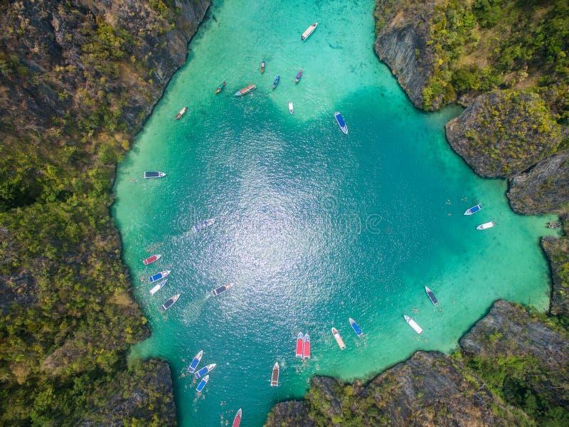 Laguna di PhiLeh fotografia stock