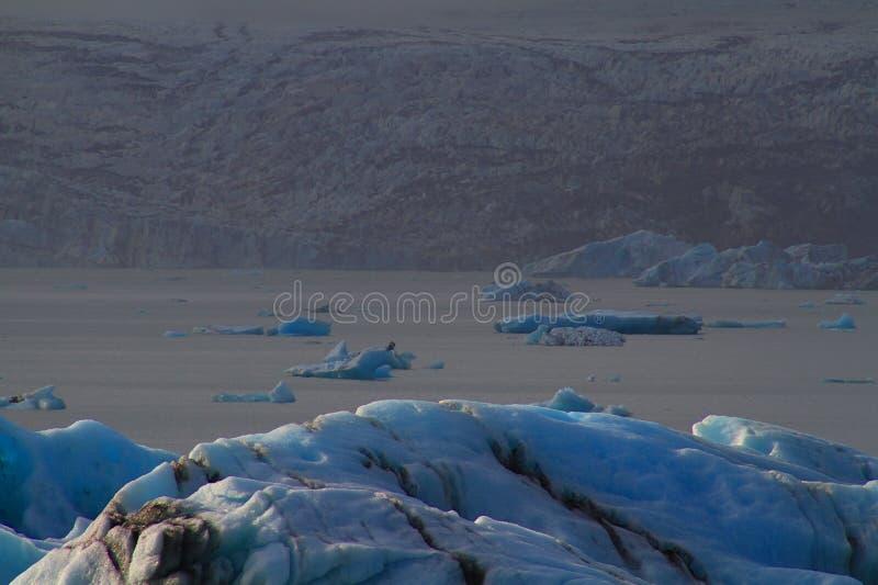 Laguna glaciale di Jorkulsarlon, Islanda fotografie stock