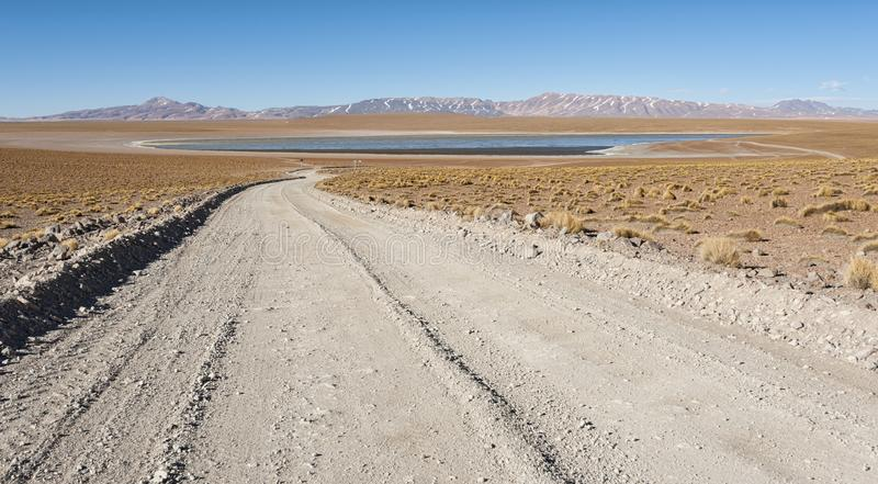 Laguna Kollpa Kkota Collpa Laguna, Sud Lípez Province, Potosí Department. Bolivia royalty free stock image