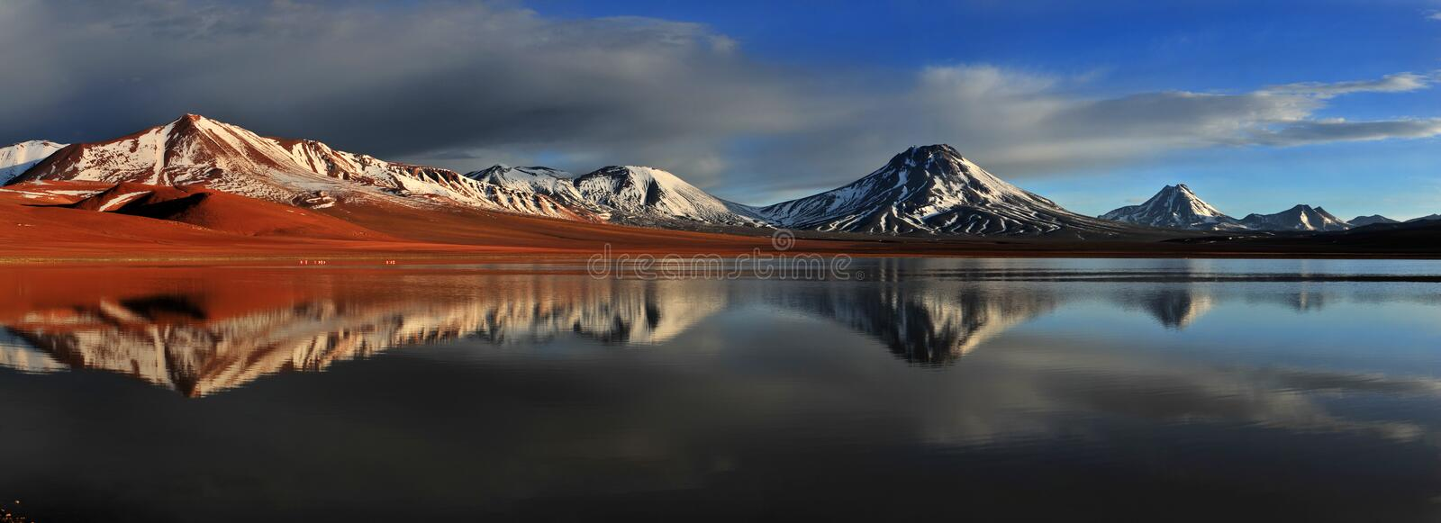 Laguna Lejia royalty free stock images