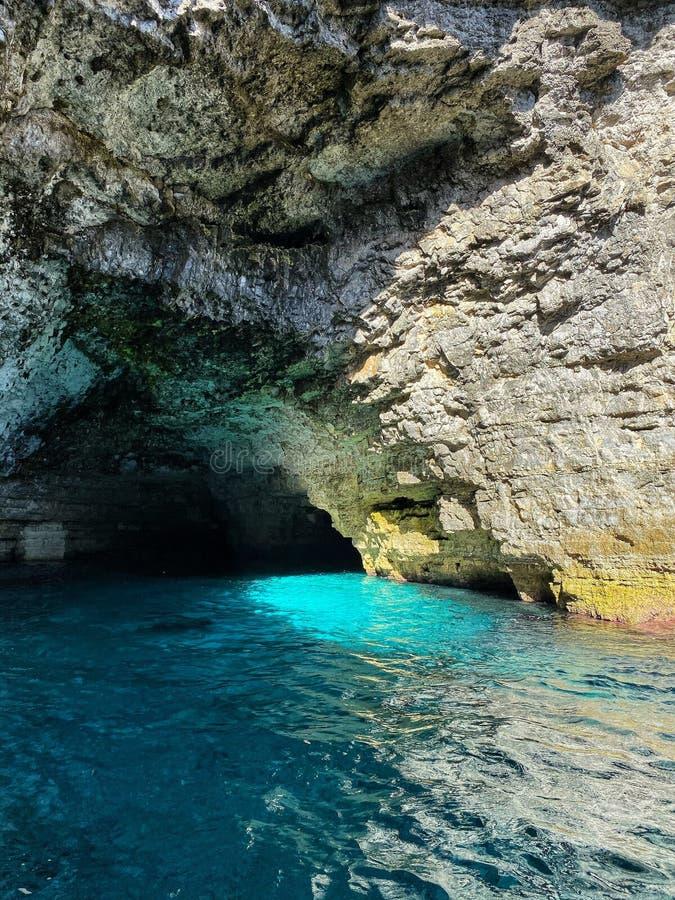 Laguna Niebieska zdjęcie stock