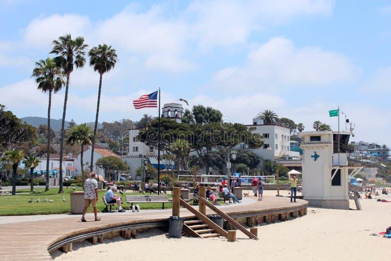 Laguna Plaża, Kalifornia zdjęcia stock