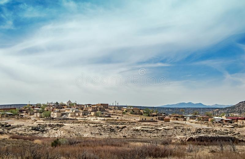 Laguna Pueblo, New Mexico. The Laguna Pueblo is a federally recognized tribe of Native American Pueblo people in west-central New Mexico, USA. c Wikipedia royalty free stock photography