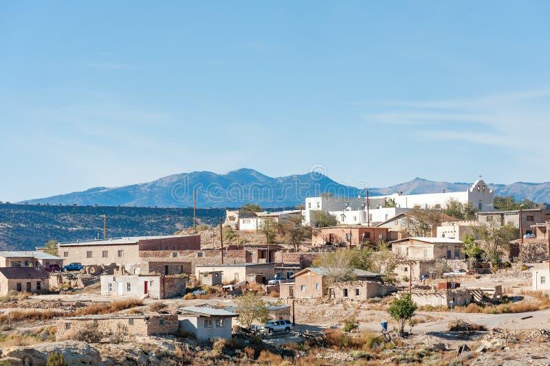 Laguna Pueblo reservation. Laguna Pueblo, Native American reservation near Albuquerque, New Mexico stock image