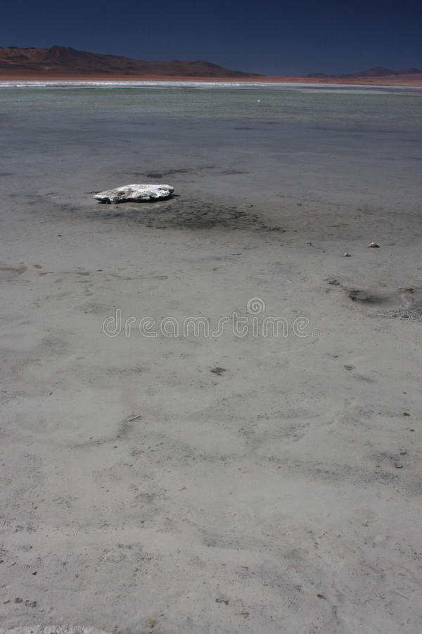 Download Laguna Salada and a stone stock photo. Image of america - 10901062