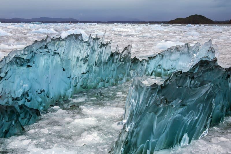 Laguna San Rafael - Patagonia - Chile lizenzfreie stockfotos