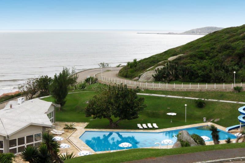 Laguna turist- hotell - Santa Catarina - Brasilien royaltyfria bilder