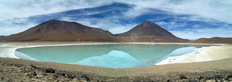 Laguna Verde imagen de archivo