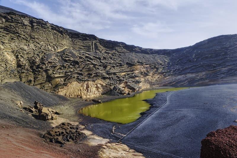 Laguna verde fotografia stock libera da diritti