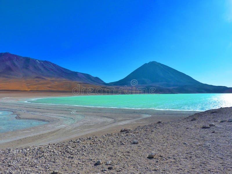 Laguna Verde, Bolivia immagini stock