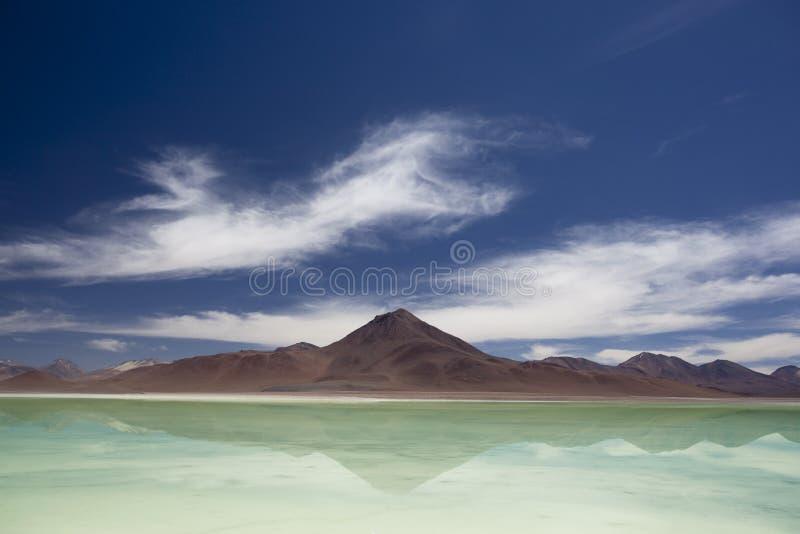 Laguna Verde, Bolivia fotos de archivo