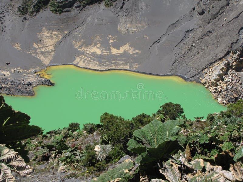 Laguna Volcan images libres de droits