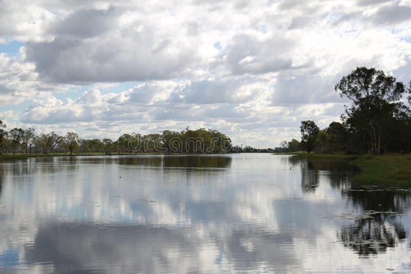 Laguna widok zdjęcia royalty free