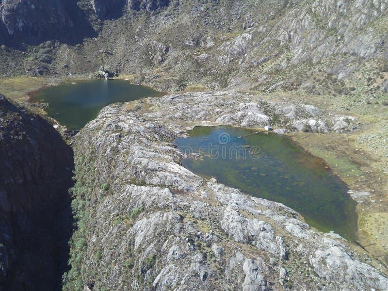 ` ` Lagunas de Los Anteojos stockfoto