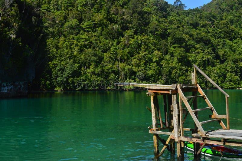 lagune image libre de droits