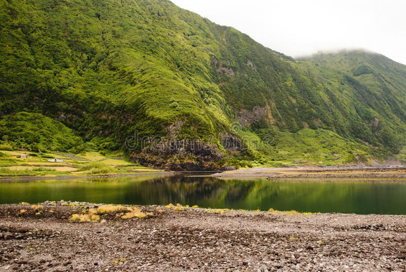 Download Lagune stockfoto. Bild von relax, szene, ruhig, himmel - 26362288