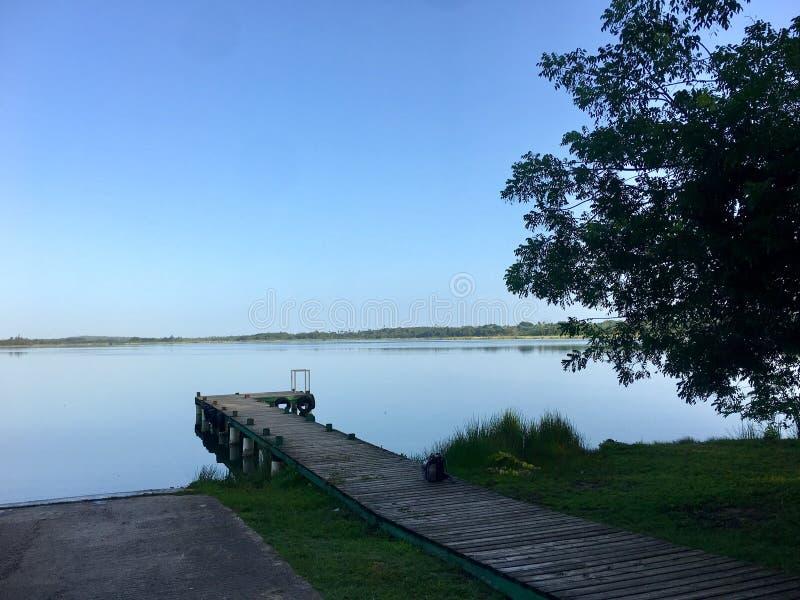lagune royalty-vrije stock afbeelding