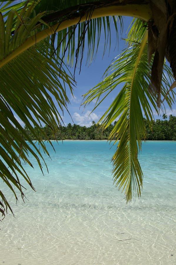Lagune-Ansicht lizenzfreies stockbild