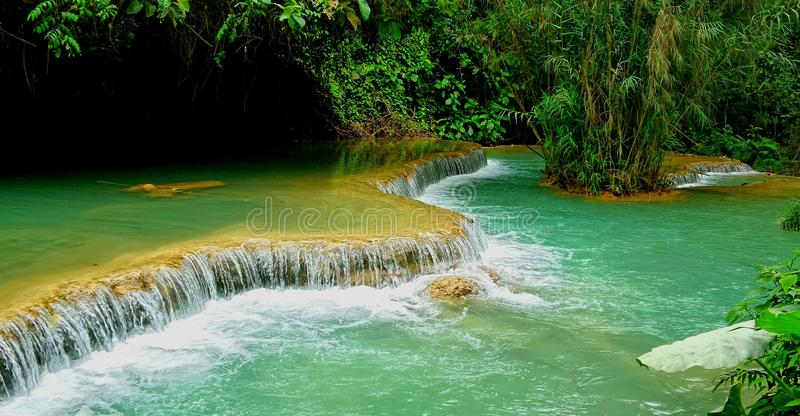 Lagune bleue image stock