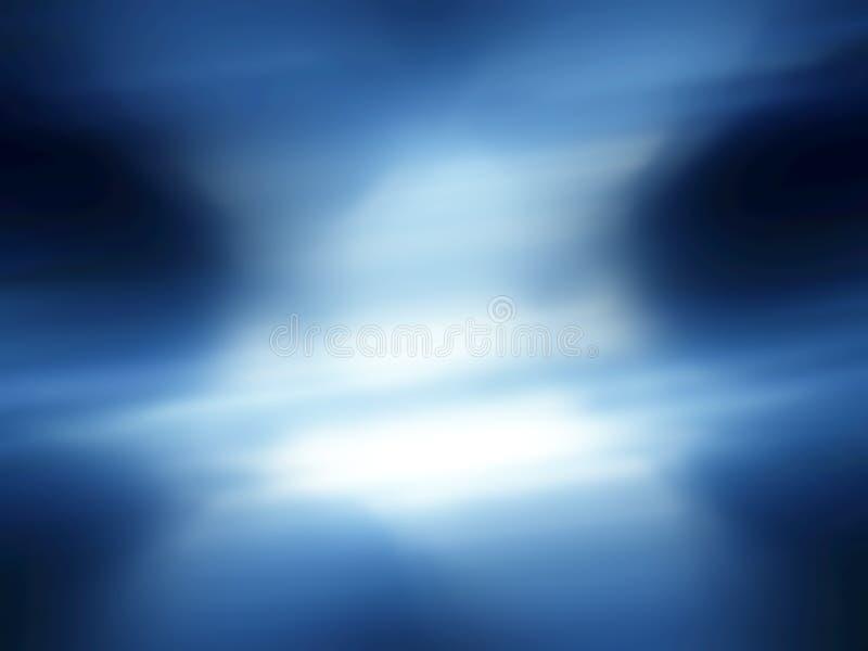 Lagune bleue illustration libre de droits