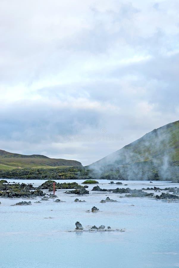 Lagune bleue près de reykjavik Islande photo libre de droits