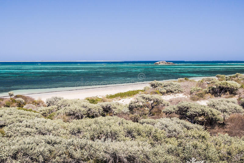 Lagune d'Andavadoaka photographie stock libre de droits