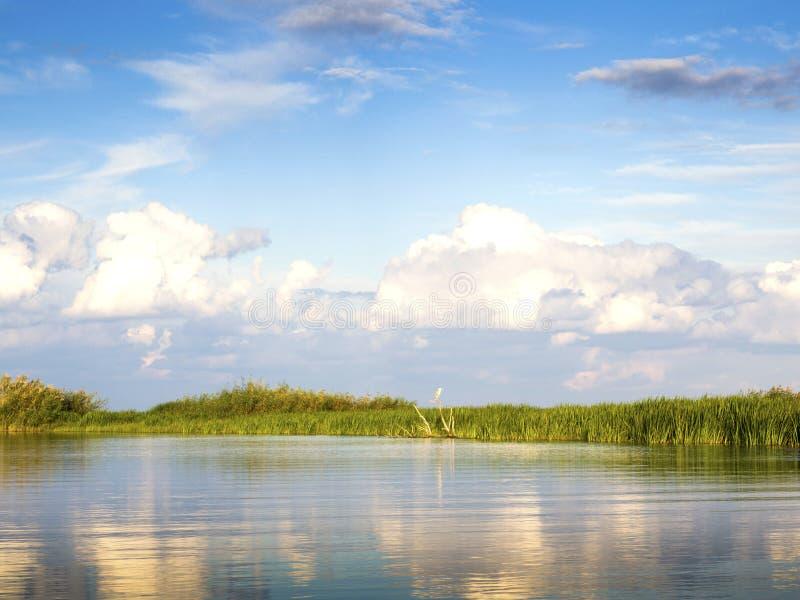 Lagune de delta de Danube images stock