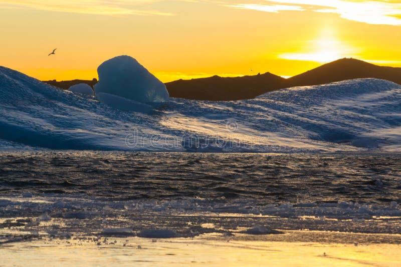 Lagune de glacier photographie stock libre de droits