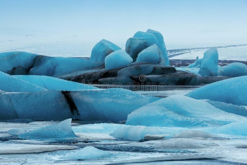 Lagune de glacier image stock
