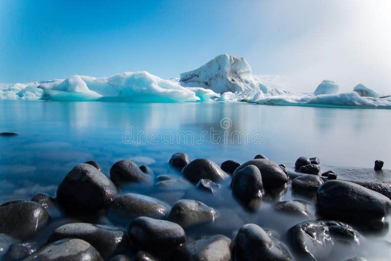 Lagune de glacier photo libre de droits