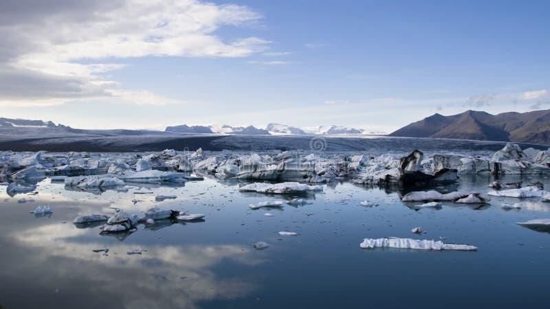 Lagune de Jokulsarlon photos libres de droits