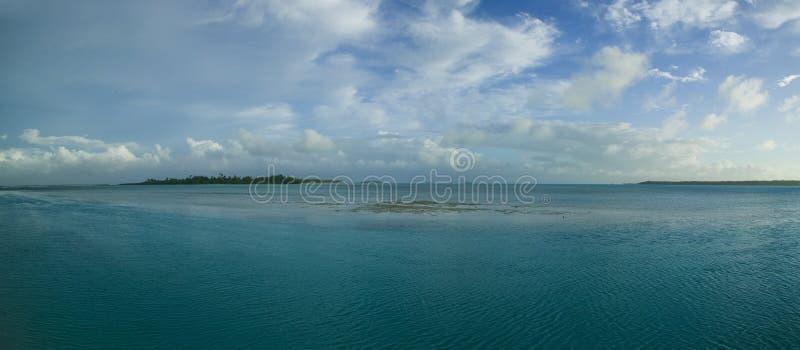 Lagune de Tahitian photographie stock libre de droits