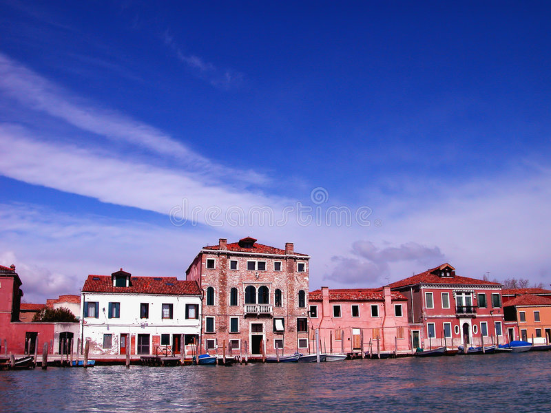 Lagune De Venise Photo stock