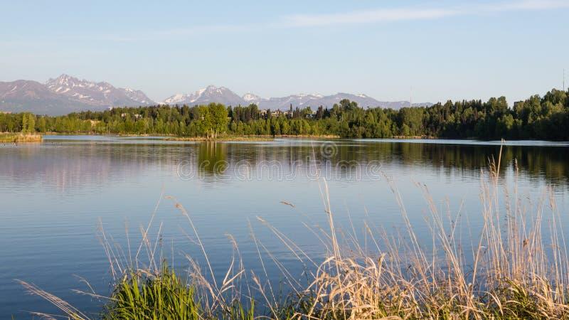 Lagune de Westchester d'Anchorage image stock