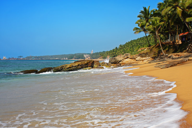 Lagune III de paradis images libres de droits