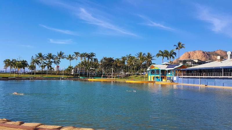 Lagune Townsville Australien lizenzfreie stockbilder