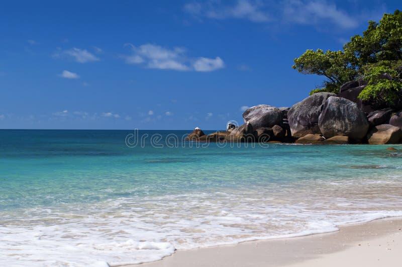 Lagune tropicale images stock