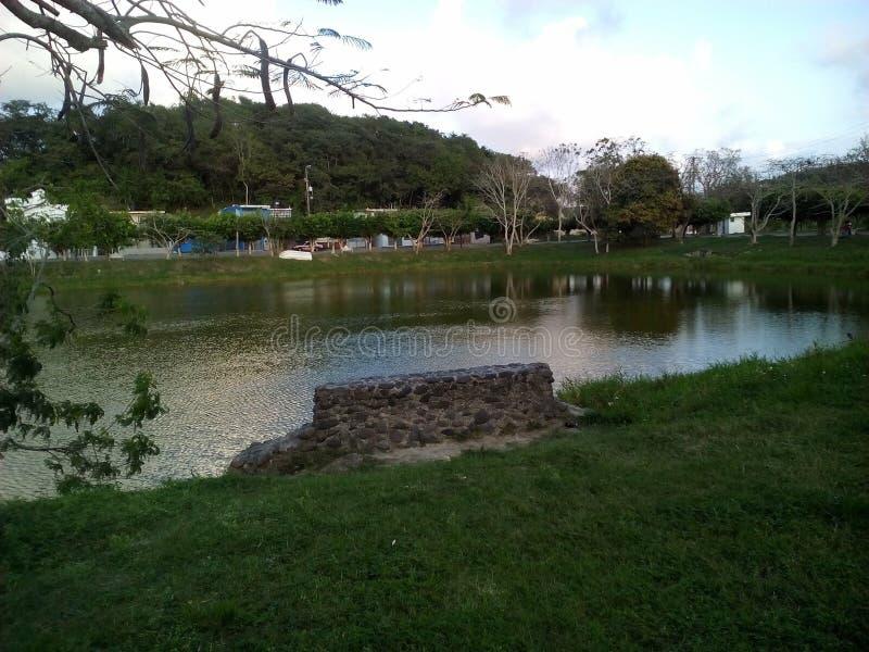 Lagunenblick stockbilder