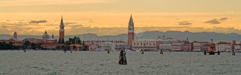 laguny Venice części sekret obraz stock