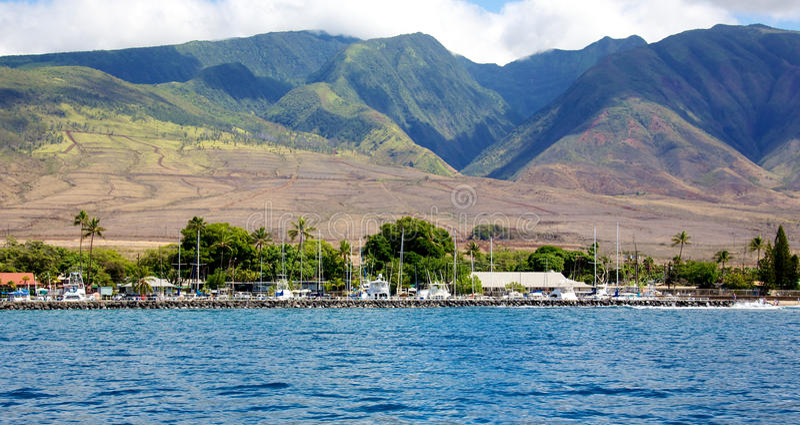 Lahaina Maui στοκ εικόνα με δικαίωμα ελεύθερης χρήσης