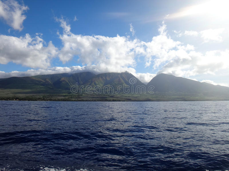 Lahaina, Maui, Hawaï image stock