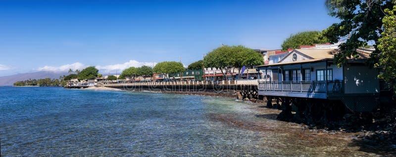Lahaina Maui Waterfront stock photo