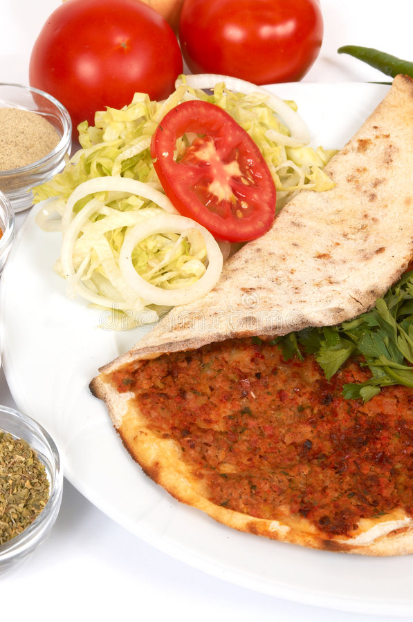 Lahmacun stock photos