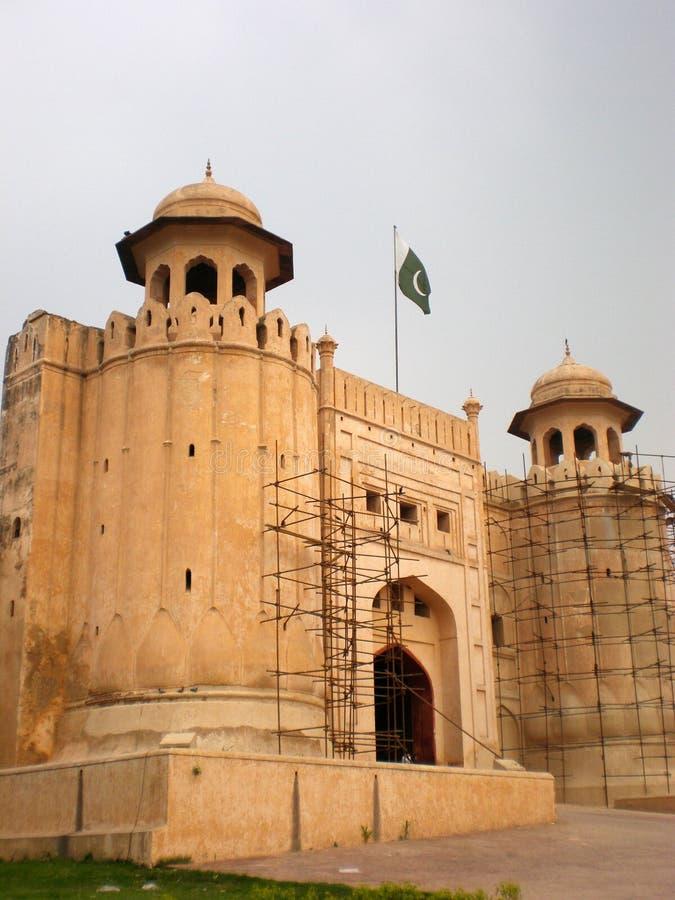 Lahore-Fort lizenzfreies stockbild