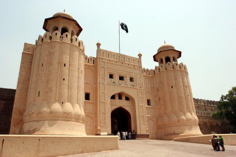 Lahore-Fort stockfotos