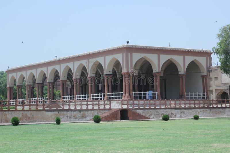 Lahore fort arkivfoto
